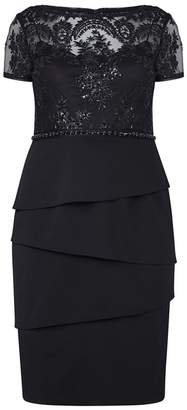 Adrianna Papell Short Sequind Dress