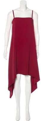 Valentino Asymmetrical Silk Dress