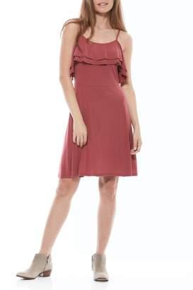 Olive + Oak Sisi Ruffle Dress