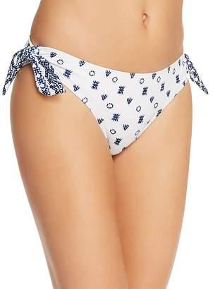 Splendid Boarder Sash-Tie Bikini Bottom