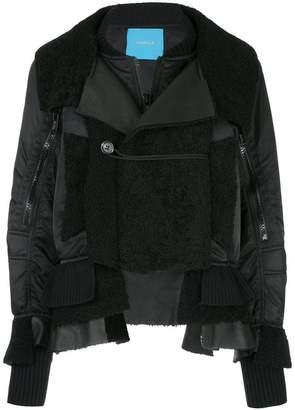 Undercover patchwork oversized jacket