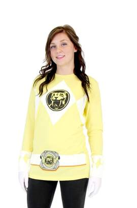 Power Rangers TV Store Ranger Long Sleeve T-Shirt & Gloves (Adult)