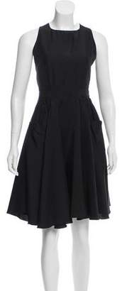 Prada Sport Silk Knee-Length Dress