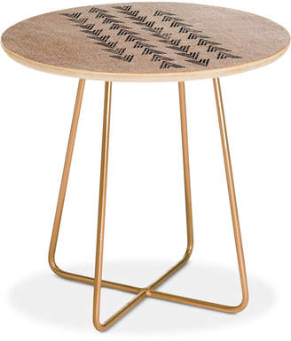 Deny Designs Holli Zollinger French Tri Arrow Round Side Table