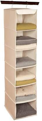 Richard's Homewares Richards Homewares Loft Natural 6-Shelf Hanging Sweater Organizer