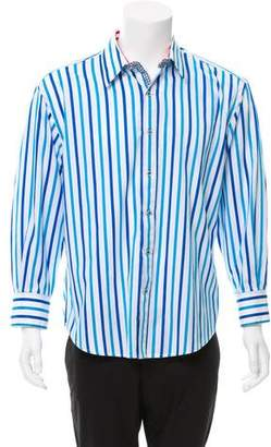 Robert Graham Striped Button-Up Shirt