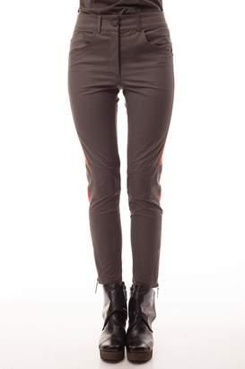 Cora Groppo coragroppo Capri Brown Pants