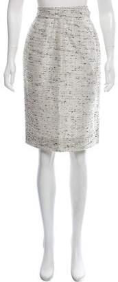 Valentino Patterned Knee-Length Skirt