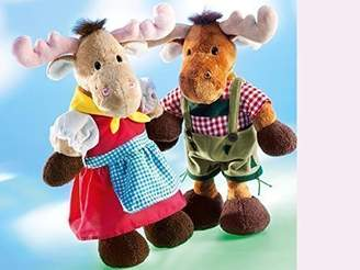 Camilla And Marc BabyCenter Rudolph Schaffer Toni Bavarian Elk Soft Toy (40 cm)