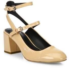 Rebecca Minkoff Brooke Patent Leather Mary Jane Block Heel Pumps