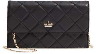 Kate Spade Emerson Place - Brennan Quilted Leather Convertible Clutch & Card Holder
