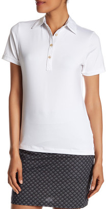 Peter Millar Short Sleeve Print Trimmed Polo $79.50 thestylecure.com