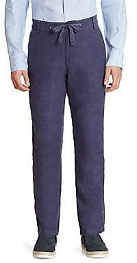 Saks Fifth Avenue Men's COLLECTION Linen Drawstring Pants