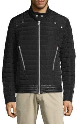 Jet Lag Quilted Down Jacket
