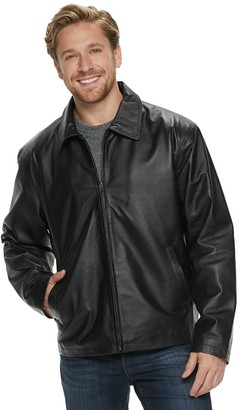 Men's Vintage Leather Black Split Napa Leather Jacket