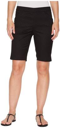 Tribal Jacquard 10 Pull-On Shorts Women's Shorts