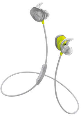 Bose ; NEW ; SoundSport Wireless Earphones - Citron