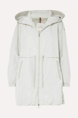 Moncler Hooded Shell Parka - Beige