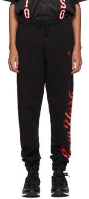Marcelo Burlon County of Milan Black NY Mets Edition Lounge Pants