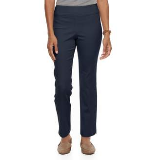 Croft & Barrow Petite Super Stretch Twill Ankle Pants