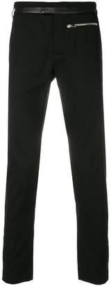 Les Hommes slim-fit trousers