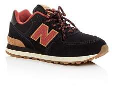 New Balance Boys' 574 Suede Low-Top Sneakers - Toddler, Little Kid
