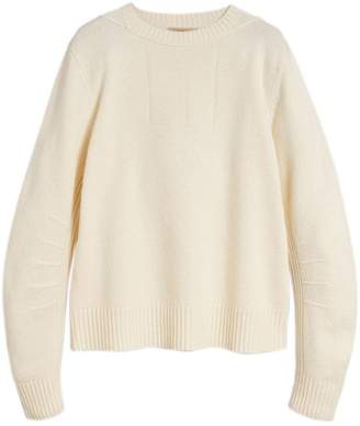 Burberry anchor intarsia sweater