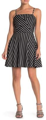 Love...Ady Striped Tank Fit and Flare Dress