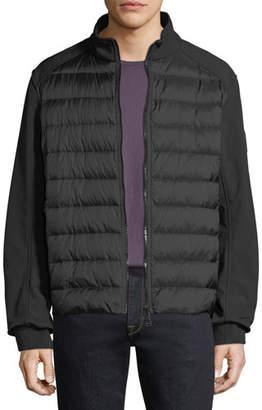 Belstaff Men's Harpford Soft-Shell Down Puffer Jacket