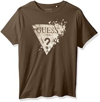GUESS Men's Shattered Logo T-Shirt