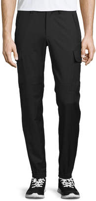 Ralph Lauren Touring Cargo Wool Gabardine Pants, Black