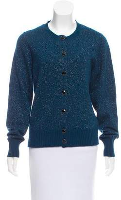 Chanel Metallic-Accented Cashmere Cardigan