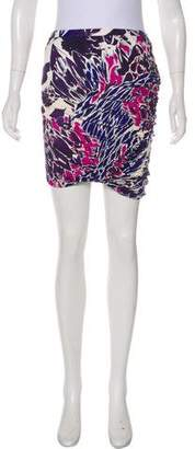 Emilio Pucci Ruched Mini Skirt