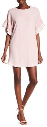 OnTwelfth Double Stripe Pleat Dress