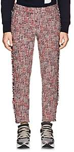 Thom Browne Men's Wool-Blend Tweed Low-Rise Trousers