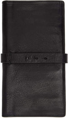 Isabel Benenato Black Medium Leather Wallet