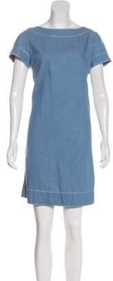 Sacai Luck Chambray Shift Dress