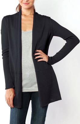 Wooden Ships Seamed Cadigan $126 thestylecure.com