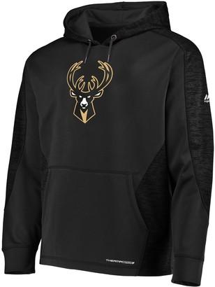 Majestic Men's Milwaukee Bucks Armor Hoodie