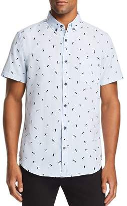 Sovereign Code Crystal Cove Printed Regular Fit Button-Down Shirt
