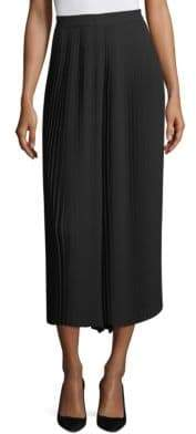 Eileen Fisher Pleated Wide Ankle Pants