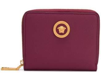 Versace zipped Medusa wallet