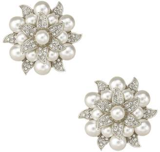 Crystal Pearl ZAKI L'vow Clothes Dress Sweater Hat Brooch Shoes Clip Wedding Decoration Pack of 2