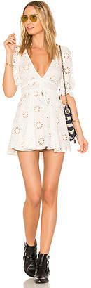 For Love & Lemons X REVOLVE Eyelet Dress in White $228 thestylecure.com