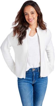 Vineyard Vines Full-Zip Mock Sweater