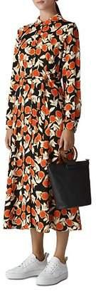 Whistles Dandelion-Print Shirt Dress