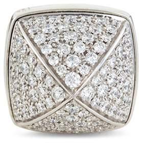 Pain De Sucre Fred 'Pain de Sucre' diamond 18k white gold pyramid large charm