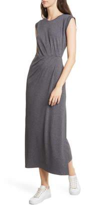 Club Monaco Pleat Detail Knit Dress
