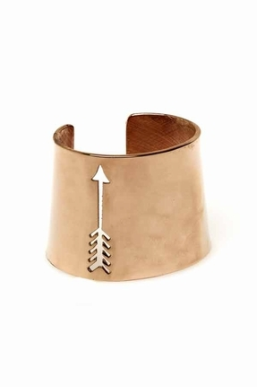 House Of Harlow Arrow Cut Out Cuff in Rose Gold