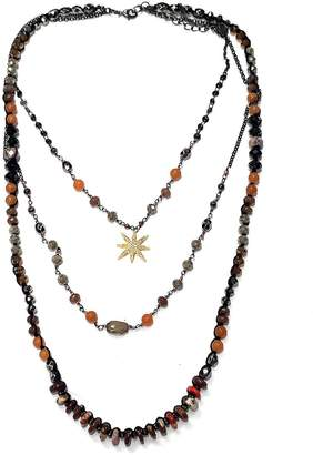 Nakamol Layered Star-Burst Necklace